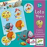 Djeco- Juegos de acción y reflejosJuegos educativosDJECOEducativos Loto 4 Estaciones, Multicolor...