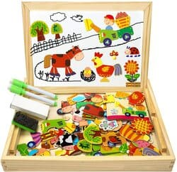 comprar puzzle magnético madera