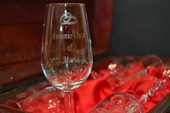 copas personalizadas y grabadas